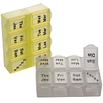 Mini 8-Compartment Pill/Vitamin Box | AP-100