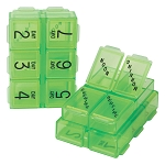 Travel 10-Compartment Weekly Pill/Vitamin Box | AP-150