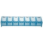 AP-290 X-Large Weekly Pill Box, Item Measures: 6