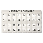 Monthly Organizer System | CMP-129