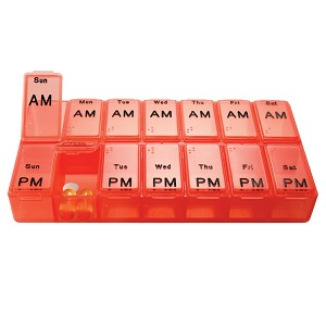 Jumbo Weekly AM/PM Pill Box | AP-300